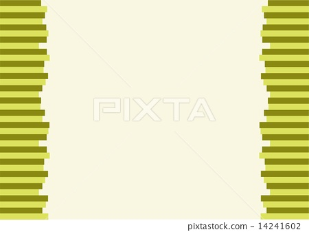 The Modern Horizontal of Green Lines Background 14241602
