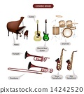 A Set of Combo Brand Music Equipment 14242520