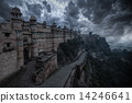 gwalior, architecture, fort 14246641