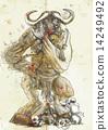 story, minotaur, greek 14249492
