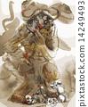 minotaur, greek, mythology 14249493