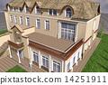 房屋 别墅 建筑 14251911