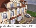 房屋 别墅 建筑 14251913