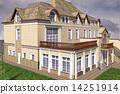房屋 别墅 建筑 14251914