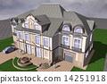 房屋 别墅 建筑 14251918