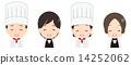 烹饪 女服务员 男人们 14252062