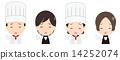 烹饪 女服务员 男人们 14252074
