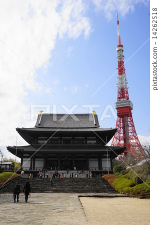 February Building · Building 314 Tokyo Tower and Zojoji 14262518