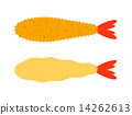 天妇罗虾 炸虾 油炸的 14262613