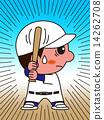 擊球手 選手 棒球 14262708