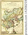 china antique map 14268259
