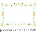 藤框架Tsutavita iv綠葉植物框架裝飾背景背景裝飾框架設計插圖圖片框架背景背景壁紙圖案複製空間白背凝乳圖案平原天然石 14271591