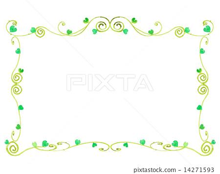 테두리 틀 프레임 스톡일러스트 14271593 Pixta