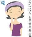 Female skin trouble 14275724