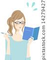 一個正在讀書的女人 14279427