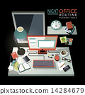 办公室 插图 电话 14284679