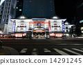 歌舞伎劇場 點燈 夜景 14291245