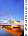 THE SAMUEL BECKETT BRIDGE 14302606
