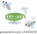 殺蟲劑 蚊香 蚊子 14303879