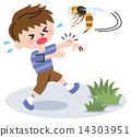 꿀벌 さされる 14303951