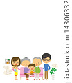 Family Family Three Generation Background Copy Space 14306332
