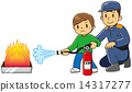 extinguisher, fire extinguisher, fire-extinguisher 14317277