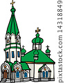 函馆Hallast东正教教堂 14318849
