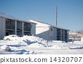 snow scene, appartment, flat 14320707