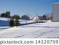 snowy road, snow scene, fallen snow 14320709