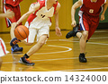 籃球 運球 球 14324000