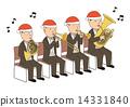 聖誕 風儀器 表演 14331840