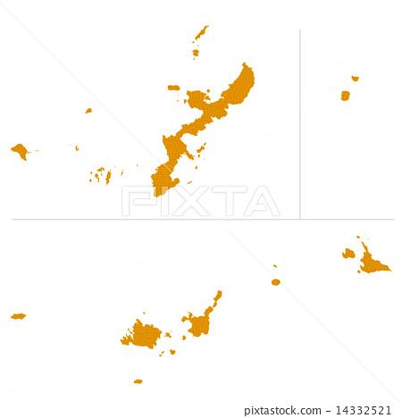 Okinawa Prefecture Map 14332521