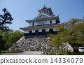 nagahama, castle, tower 14334079