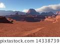 3D Fantasy desert landscape 14338739