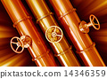 Pipeline. Industrial background 14346359