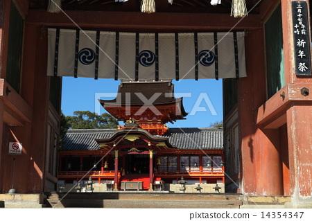 Shimizu Shimizu Shrine and the main shrine 14354347