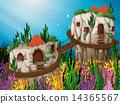 洞穴 水生的 水下 14365567