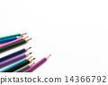 彩色鉛筆 多彩 富有色彩的 14366792