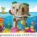 海洋 房屋 房子 14367532
