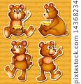 honey teddy bear 14368234