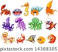 creatures cartoon sea 14368305