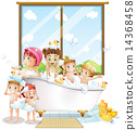 Children and bath 14368458