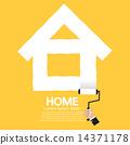 Paint Roller Home Concept 14371178