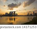 Singapore city skyline 14371253
