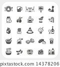 Food and Dessert icons set 14378206