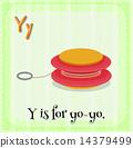 Letter Y 14379499