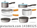 pans, pan, kitchenware 14380325