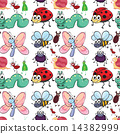 insect, seamless, pattern 14382999
