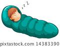 Sleeping bag 14383390