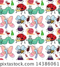 insect, seamless, pattern 14386061